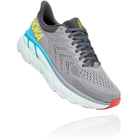 Hoka One One Clifton 7 Scarpe da corsa Uomo, wild dove/dark shadow